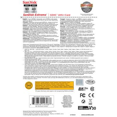 SanDisk SDSDXVE-032G-GNCIN flashgeheugens