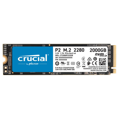 Crucial CT2000P2SSD8 solid-state drives