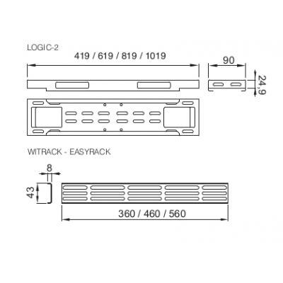 Retex 32315101 Rack-toebehoren