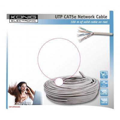 König CMP-UTP5R100S netwerkkabel