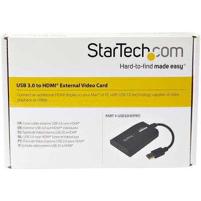 StarTech.com USB32HDPRO USB grafische adapters