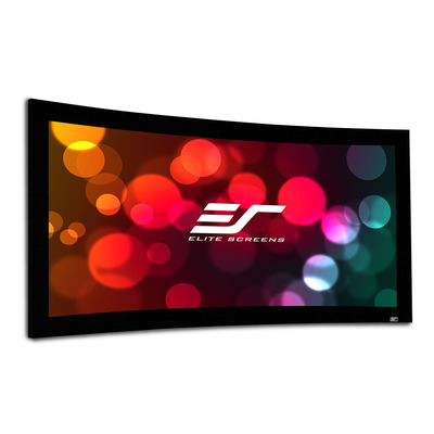 Elite Screens CURVE235-115W projectieschermen