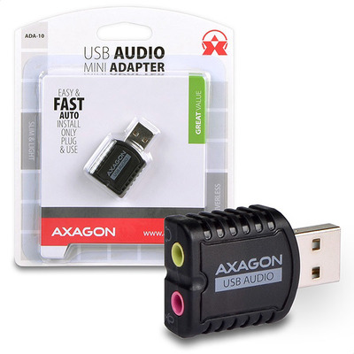 Axagon ADA-10 geluidskaart