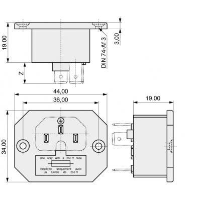 MPE-Garry 42 R32-1121 kabel connector