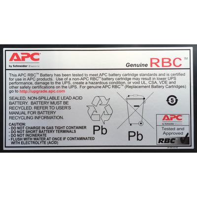 APC RBC11 oplaadbare batterijen/accu's