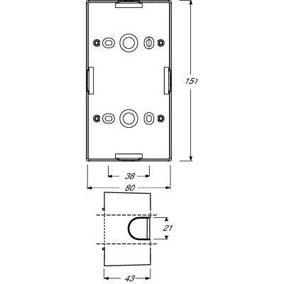Busch-Jaeger 1799-0-0902 inbouweenheid