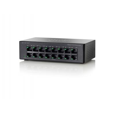 Cisco SF110D-16HP-EU netwerk-switches