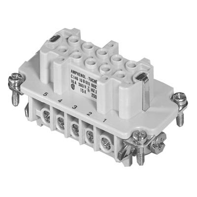 Amphenol C14610B0101021 Elektrische draad-connectors