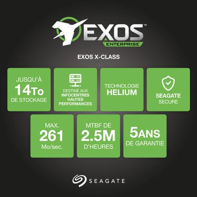 Seagate ST12000NM0008 interne harde schijven