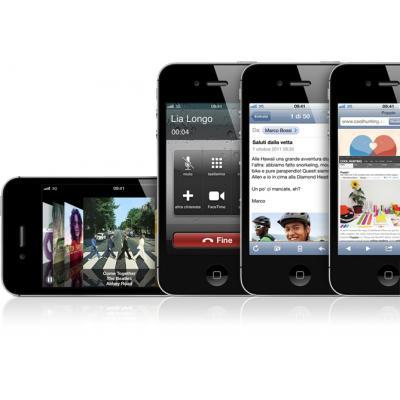 Apple MD235-LG smartphone
