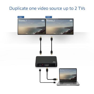 Ewent EW3720 video splitters
