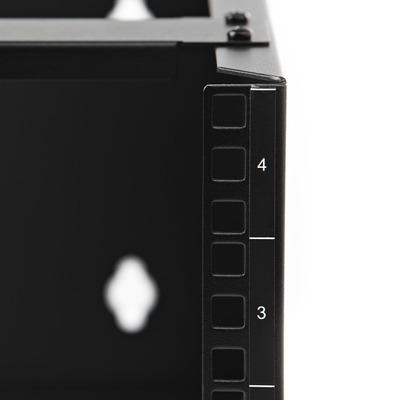 StarTech.com WALLMOUNT4 Stellingen/racks
