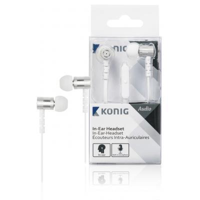 König CSHSIEF100WH headset