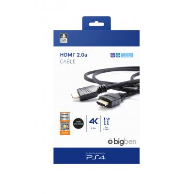 Bigben Interactive PS4OFHDMI2.0 HDMI kabel