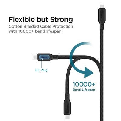 Spigen 000CA25702 USB-kabels