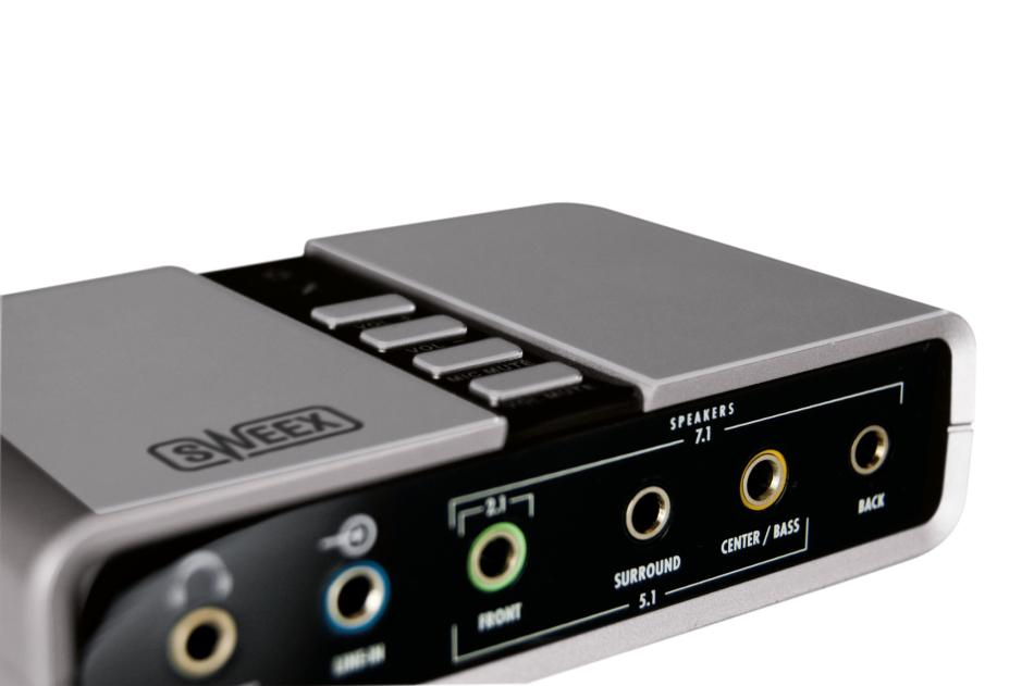 Uitgelezene Sweex 7.1 External USB Sound Card (SC016) kopen » Centralpoint TH-35