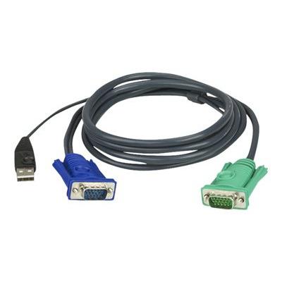 Hewlett Packard Enterprise Q5T69A toetsenbord-video-muis (kvm) kabel