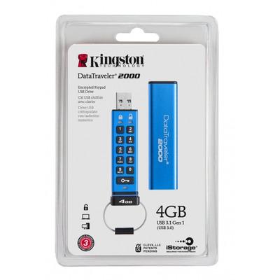 Kingston Technology DT2000/4GB USB-sticks