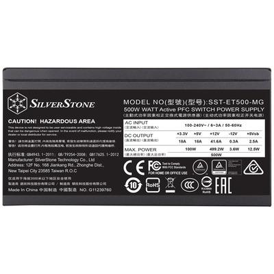 Silverstone SST-ET500-MG power supply units
