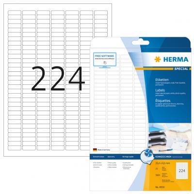 HERMA 8830 etiket