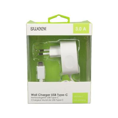 Sweex CH-005WH opladers voor mobiele apparatuur