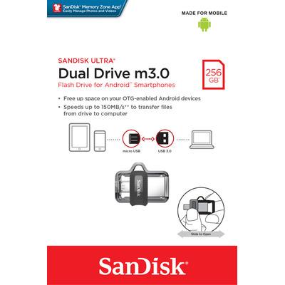 SanDisk SDDD3-256G-G46 USB-sticks