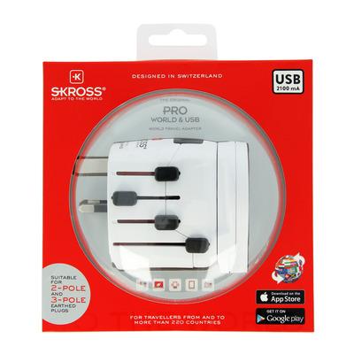 Skross 1.302535 stekker-adapters