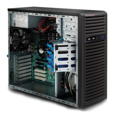 Supermicro CSE-732I-500B computerbehuizingen