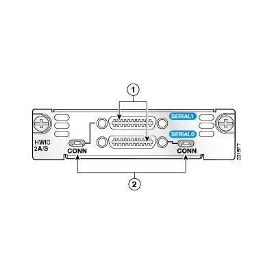 Cisco HWIC-2A/S= interfaceadapter