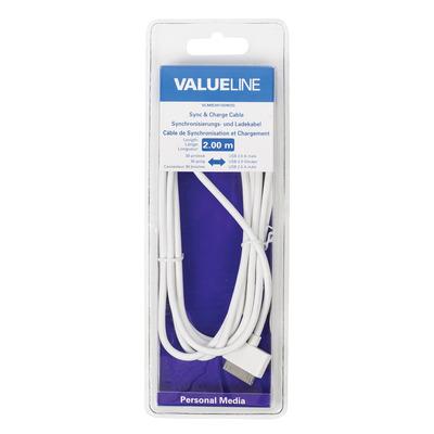 Valueline VLMB39100W20 mobiele telefoonkabels