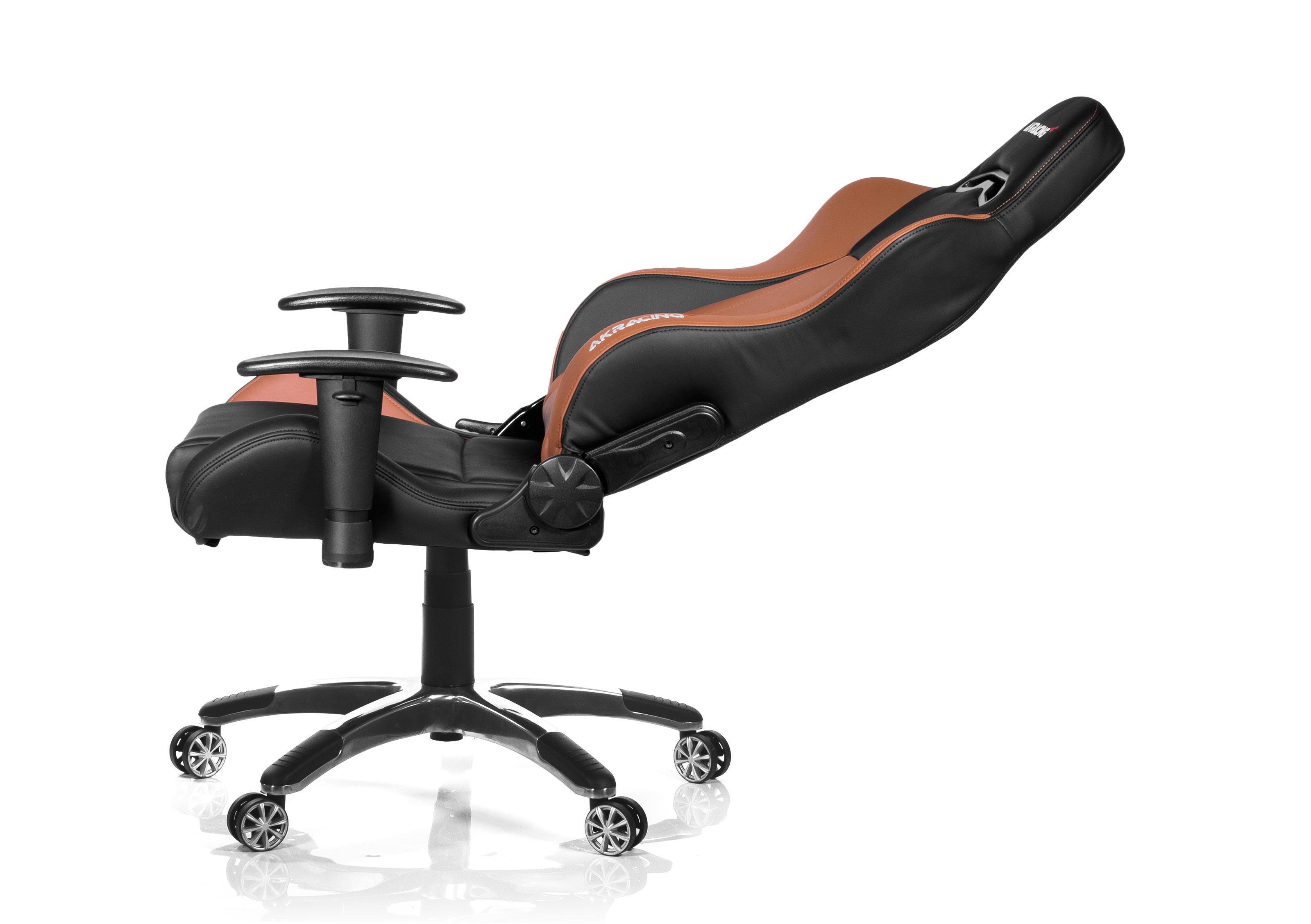 Akracing premium v gaming chair black brown ak bb kopen