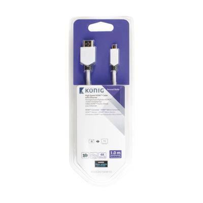 König KNM34700W10 HDMI kabel