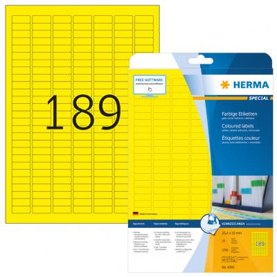 HERMA 4243 etiket