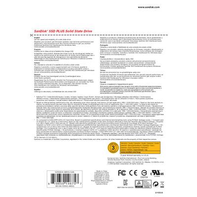 SanDisk SDSSDA-480G-G26 solid-state drives