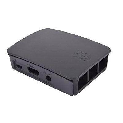 Raspberry Pi RPI3-CASE-BLK-GRY Development board accessoires
