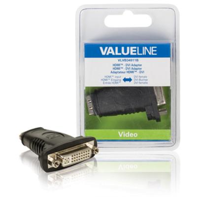 Valueline VLVB34911B kabeladapters/verloopstukjes