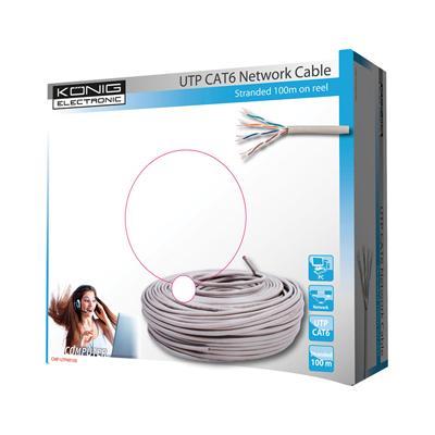 König CMP-UTP6R100 netwerkkabel