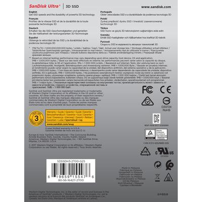 SanDisk SDSSDH3-2T00-G25 solid-state drives