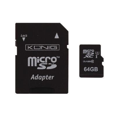 König CSMSDXC64GB flashgeheugen