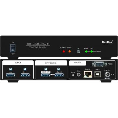 GeoBox VNS406S01B10 Videomuur-processors
