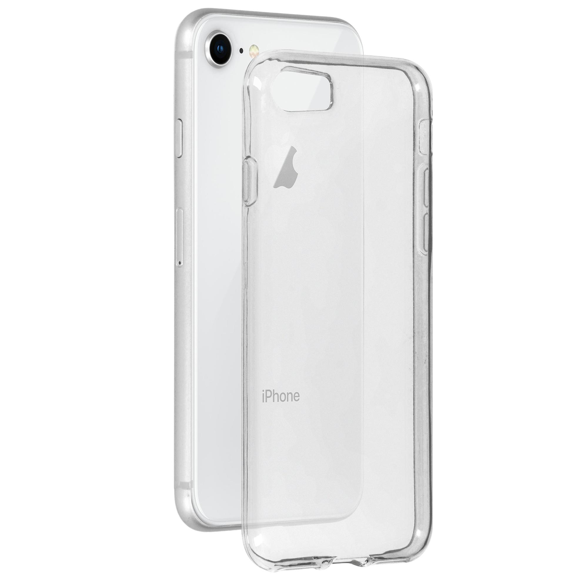 Softcase Backcover iPhone 8 / 7 - Transparant