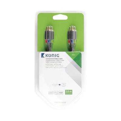 König KNV24350E20 component (YPbPr) videokabels