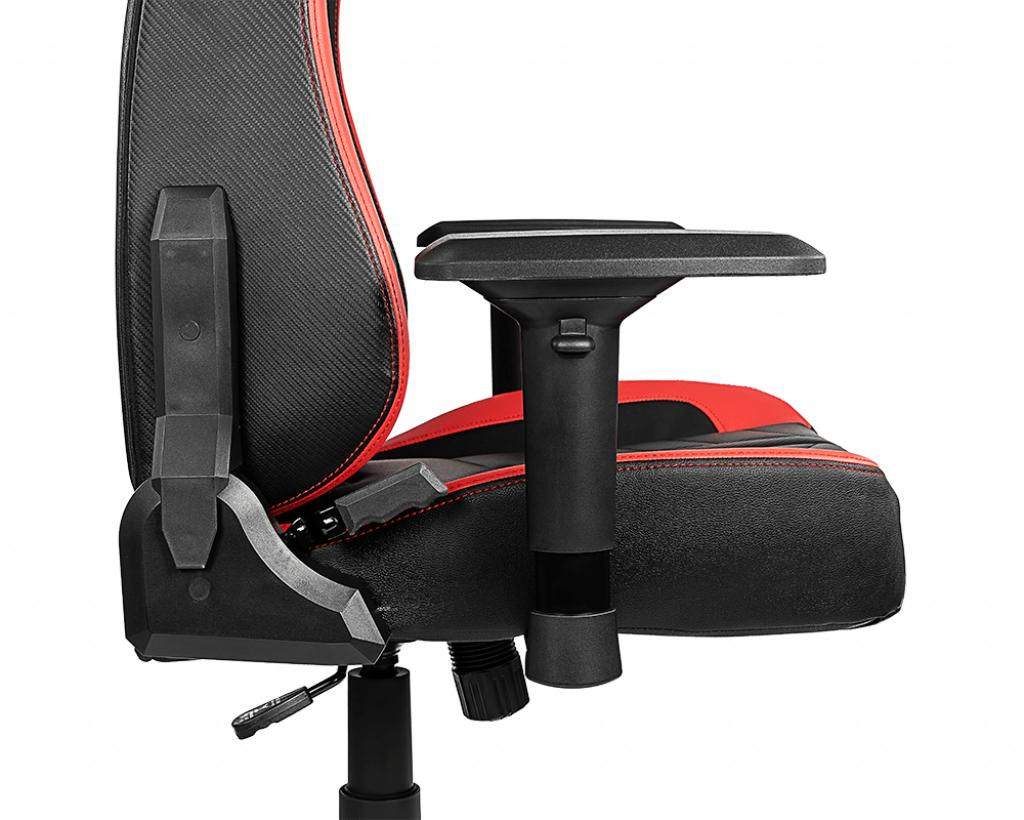 Msi the complete frame of msi mag ch gaming chair is made of