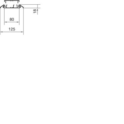 Hager AKA181250ELN Kabelgeleidingssystemen
