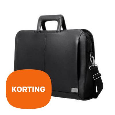 DELL Executive leren laptoptas – Korting