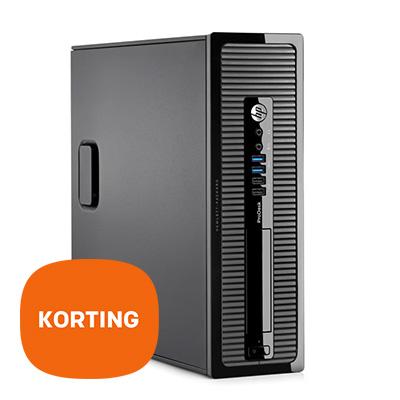 HP ProDesk 400 SFF PC - Korting