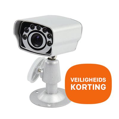 Bewakingscamera met IR Leds – Veiligheidskorting