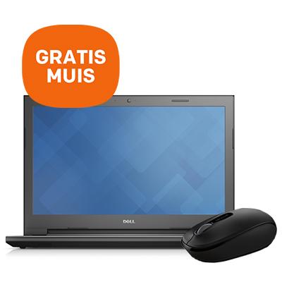 Dell Vostro 15.6'' notebook + GRATIS muis