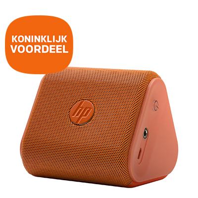 HP Roar Mini speaker oranje met Koninklijk voordeel