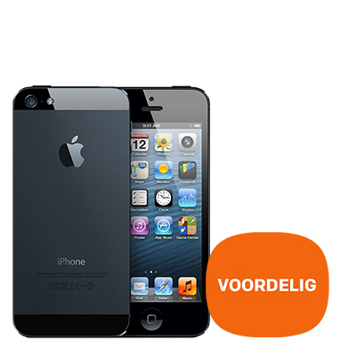 iPhone 5 16GB Zwart | Refurbished - Extra voordelig
